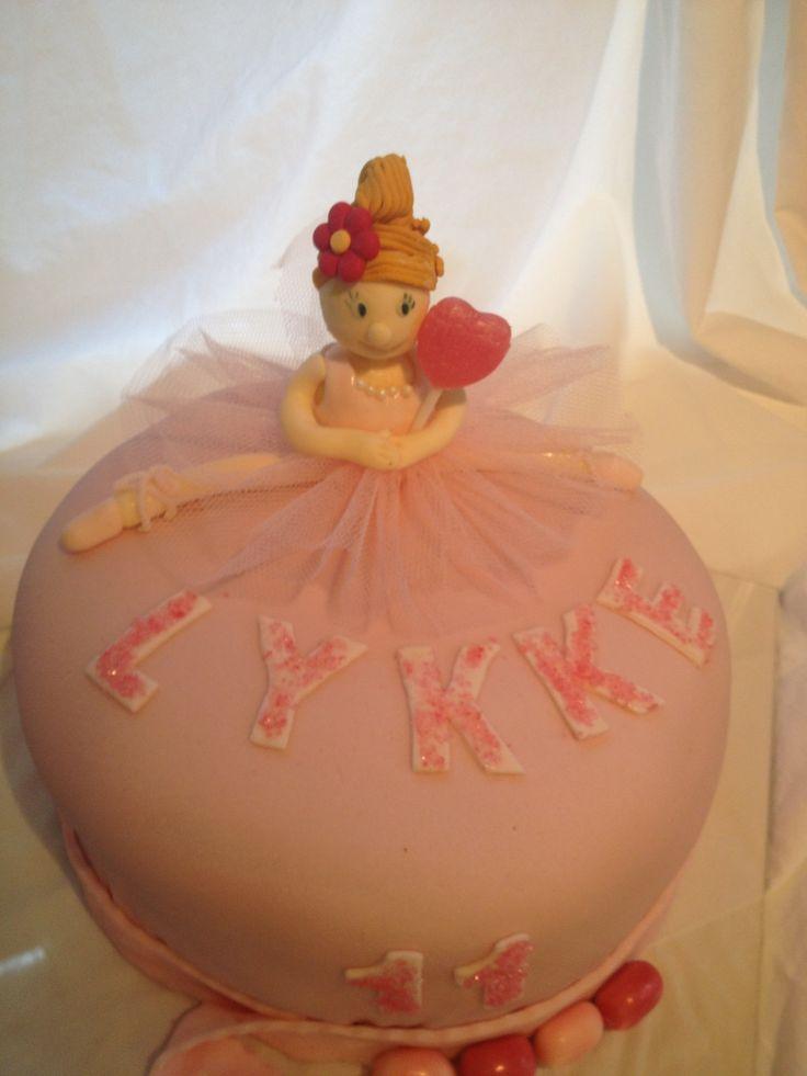 #Ballerinakake #balletcake #pink #rosa