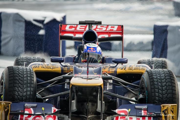 Ricciardo at Speed Day