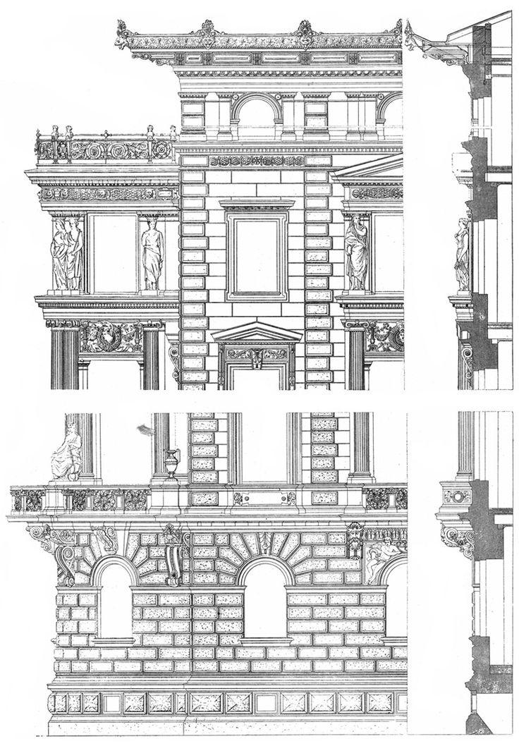 17 best images about architecture on pinterest famous for Famous building blueprints