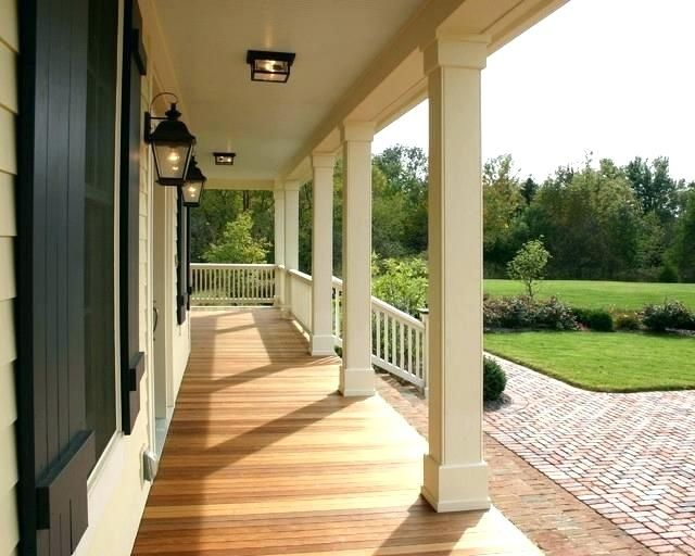 Image Result For Vinyl Column Wraps Traditional Porch Porch Pillars House With Porch