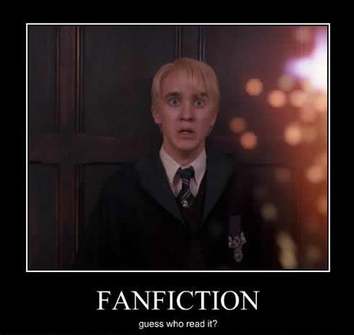 Harry Potter fanfiction can be... er... scary...
