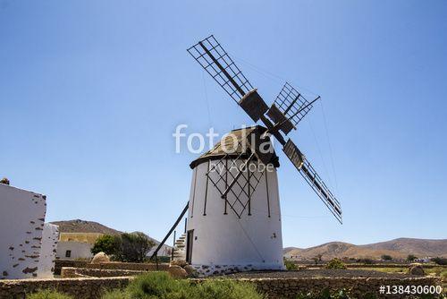 Fuerteventura - Tiscamanita windmill
