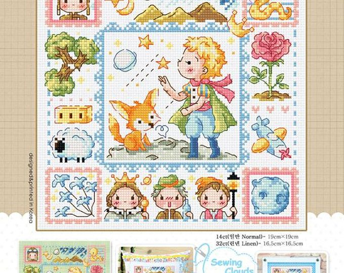 The Little Prince Counted Cross Stitch Chart Sodastitch So 3224