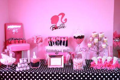 Decoración de Fiestas Infantiles de Barbie