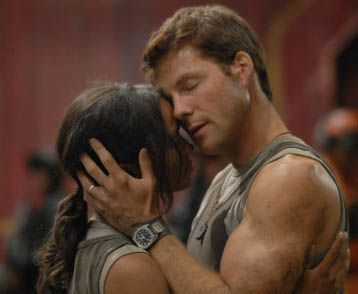 Kandyse McClure and Jamie Bamber