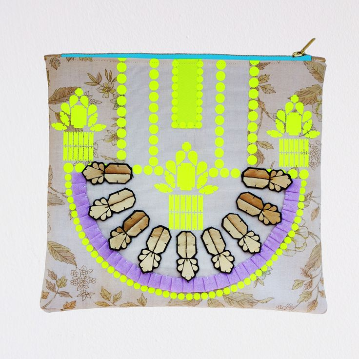 ornate, embellished CLUTCH PURSE by dAKOTArAEdUST. find it on etsy.