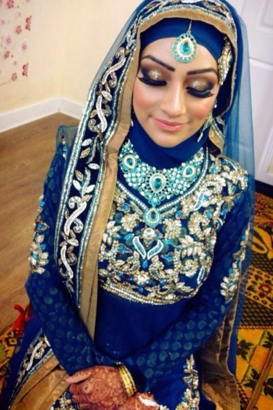 17 best ideas about south asian bride on pinterest asian for Indian muslim wedding dress