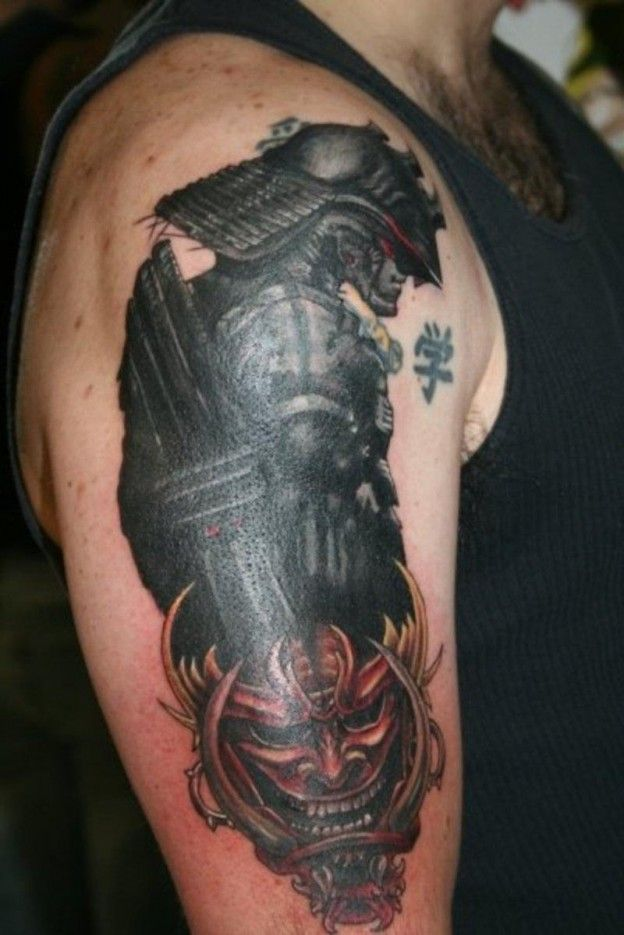 Best Tattoo Gallery Design And Ideas Images On Pinterest - Best traditional samurai tattoo designs meaning men women