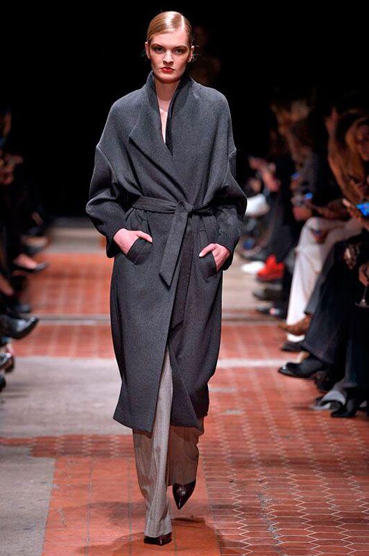 с чем носить пальто халат - Поиск в Google