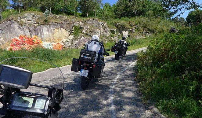 Motor Tours in Galicia, Tour Rias Baixas Yamaha Super Ténéré 1200Z