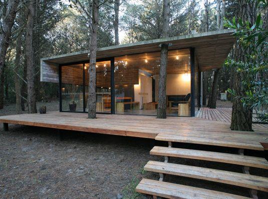 Deck and steps down like this?? BAK arquitectos, casa mar azul