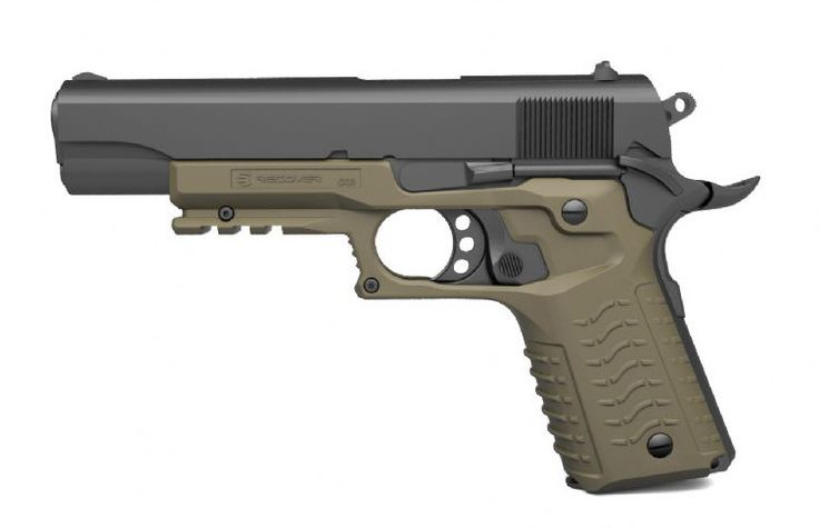RECOVER 1911 Grip and Rail SystemLoading that magazine is a pain! Get your Magazine speedloader today! http://www.amazon.com/shops/raeind