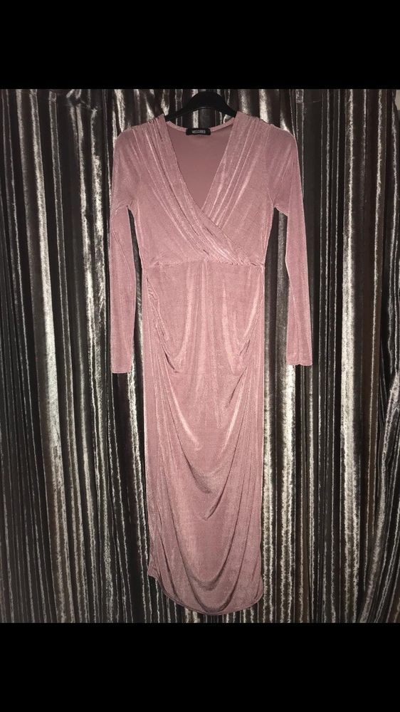 cd408aa29abbf Missguided Pink Maternity Midi Dress Size 8 #fashion #clothes #shoes  #accessories #womensclothing #dresses (ebay link)