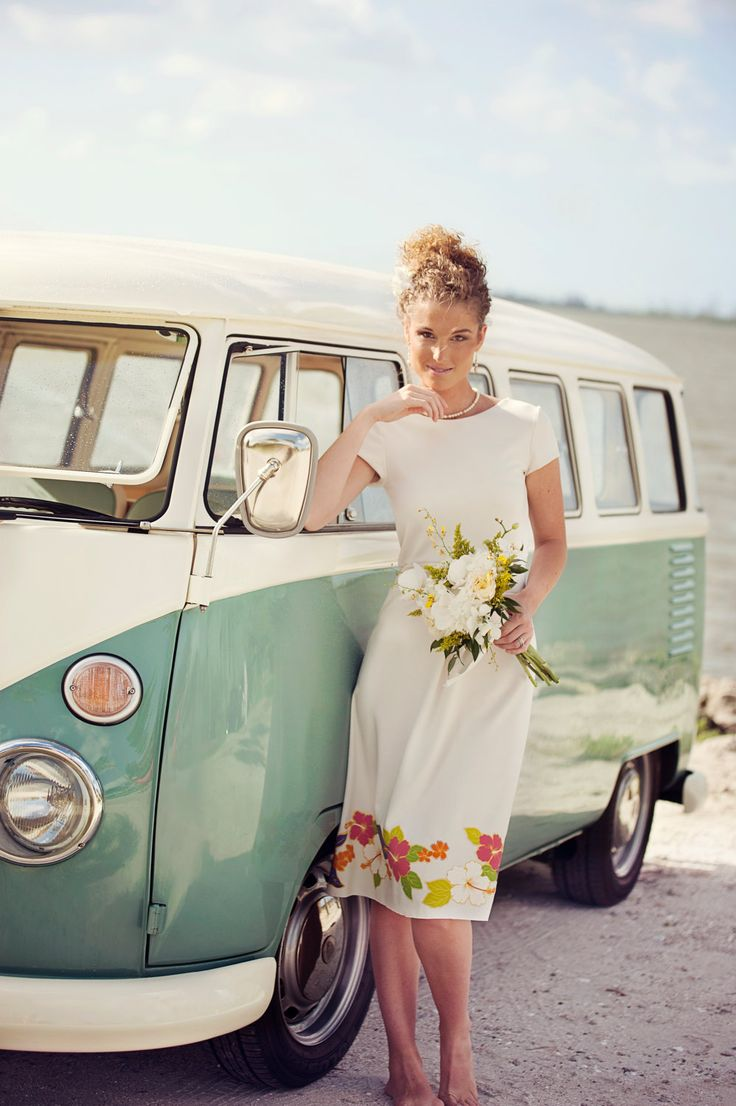 vintage beach wedding dresses
