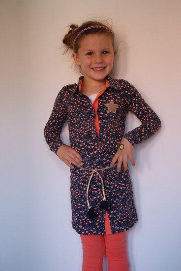 #Alexandra #Petrol/panter #Quapi -lot en Lynn Lifestyle  wintercollectie 2014/2015 Quapi Kidswear  www.lotenlynn.nl