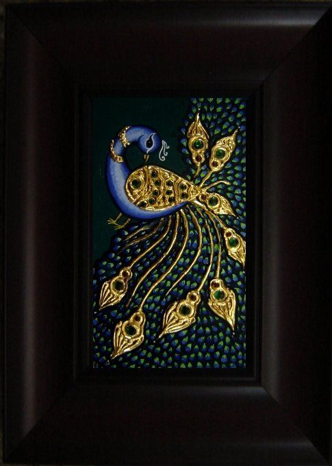Peacock 3a - 12x9in