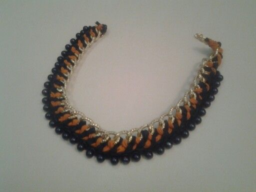 Chain necklece easy to make