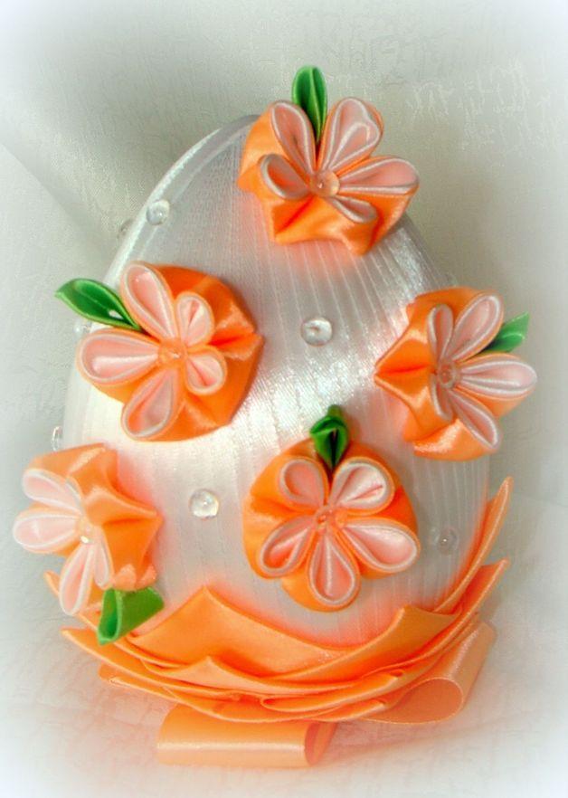 Jajko karczoch kanzashi - dorotkowo - Pozostałe