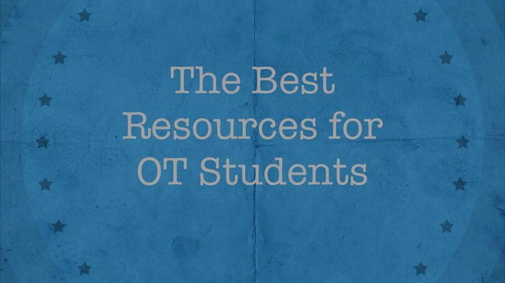 OT school is hard work. And life outside of school doesn't exactly stop.  To thrive in OT school, there is some level of simply needing to put your  nose to the grindstone. But, there is also wisdom in leveraging the best  occupational therapy resources out there.