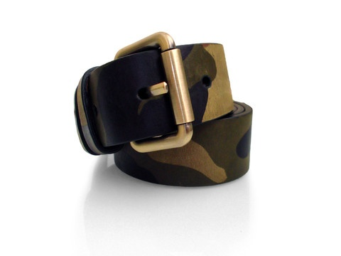 """Zane's Slim Belt  $125     Constructed from fine Italian leather,with hand burnished edges Made in NYC. Antique brass or gunmetal buckle 1 1/4 """" in width"""