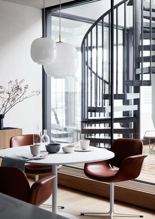 Beautiful Stockholm apartment by architect Andreas Martin-Löf | Styling by Pella Hedeby | Photo by Ragnar Ómarsson via Swedish Elle DecorationFollow Style and Create at Instagram | Pinterest | Facebook | Bloglovin
