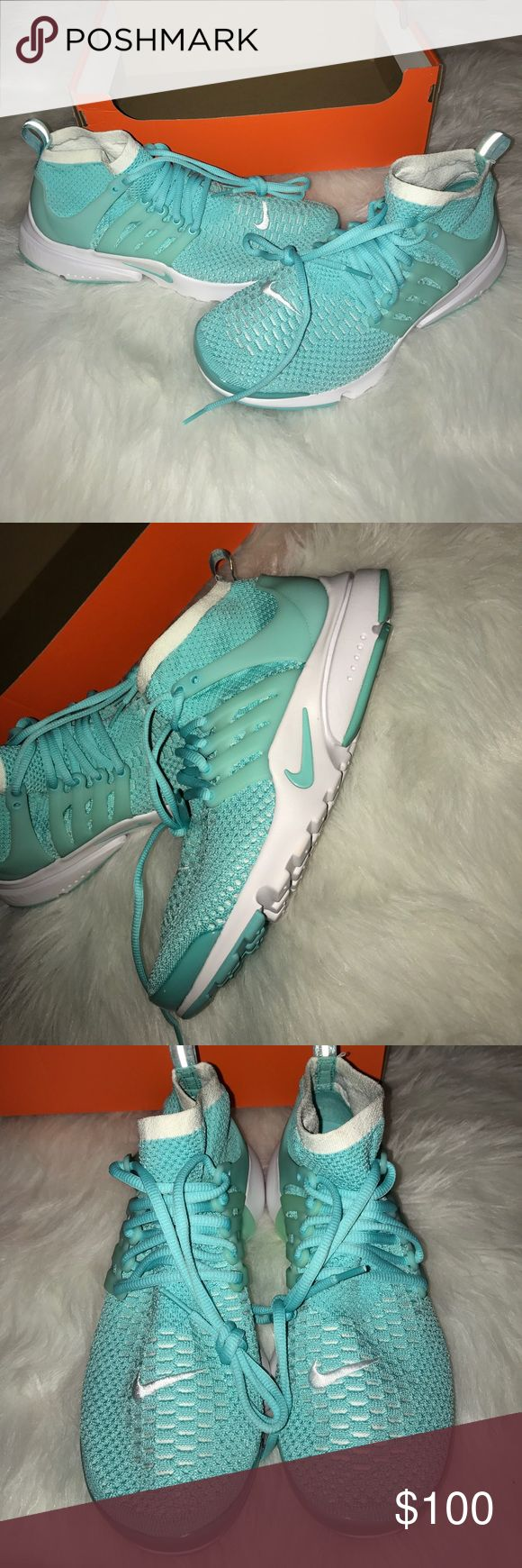 Home nike wmns air presto flyknit ultra midnight turquoise olive - New Nike Women S Sample Air Presto Size 10 5 Rare Nwt
