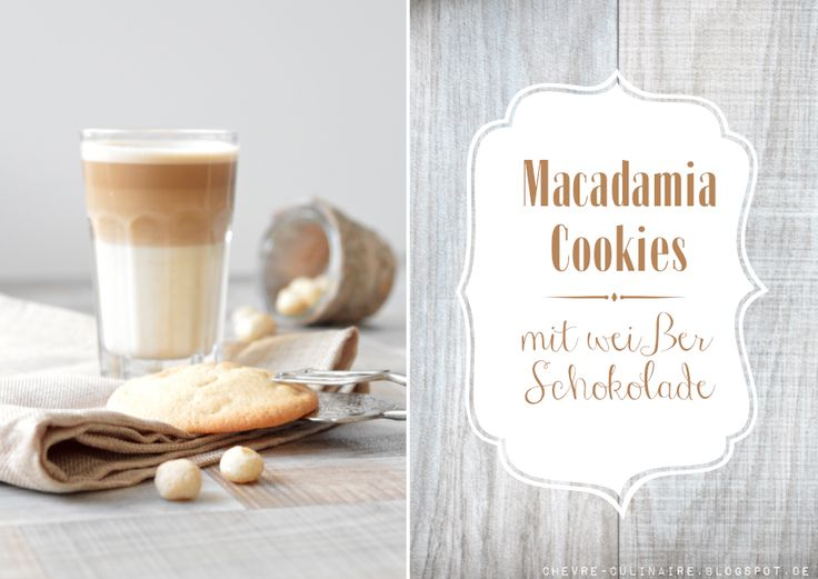 Chèvre culinaire: Sweet And Salty Macadamianut Cookies / White Chocolate // Süßsalzige Macadamiacookies mit weißer Schokolade