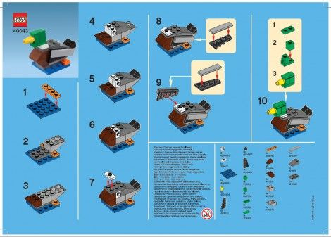 16 Best Lego Pick A Model Images On Pinterest Lego Instructions