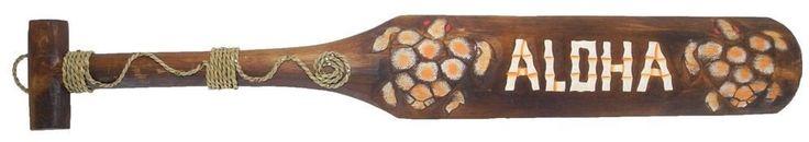 Hawaii Paddel Tiki Aloha 1m 100cm Bar Deko Schild Südsee Wandbrett Wandmaske | eBay