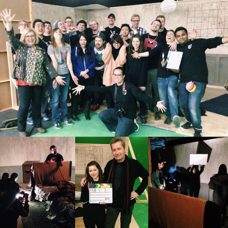 #NAIT DMIT Digital Cinema students are getting real-world work experience by producing a music video for the song It Ain't Nuthin by Calgary-based musician Craig Moreau! It's being shot using NAIT's new film studio. Great work from great students!! #yeg #abpse #Edmonton #yegfilm