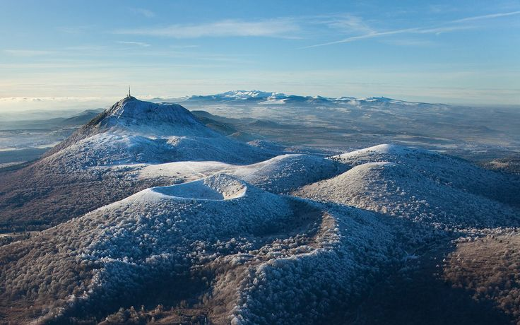 Puy de Dome, Auvergne, France