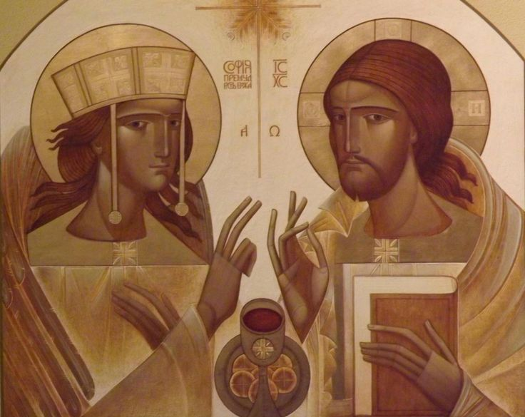 The antithesis of Christus and Sophia, as He of the right (ho dexios) and She of the Left (hē aristera), as male and female, is but a repetition of the first Cosmogonic Antithesis in another form.