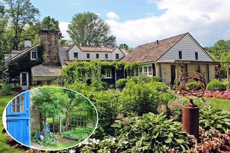 Oldhouses Com 1800 Colonial Amp Guest Cottage Enchanting