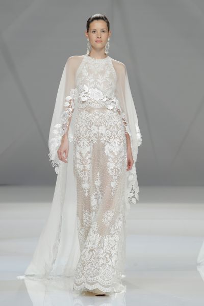 Vestidos de novia cuello cisne 2017: Déjate seducir por su elegancia en tu gran día Image: 19