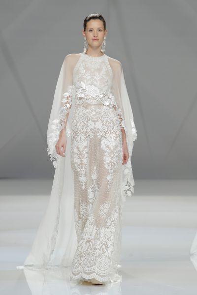 Vestidos de novia con encaje 2017: Luce sutil, delicada y elegante Image: 31