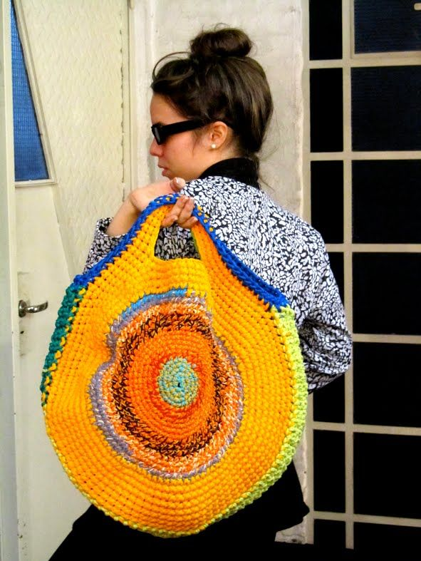 Circle Crochet Bag Inspiration Galore!