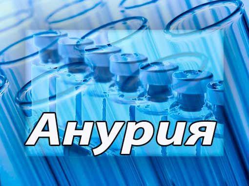 Анурия (лат. Anuria греч. An - не, к отрицанию + uriа - моча) - прекращение поступления мочи в мочевой пузырь.