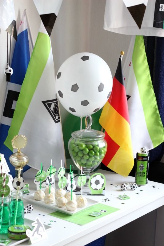 Fussball Geburtstag - Borussia Mönchengladbach | SASIBELLA soccer Party