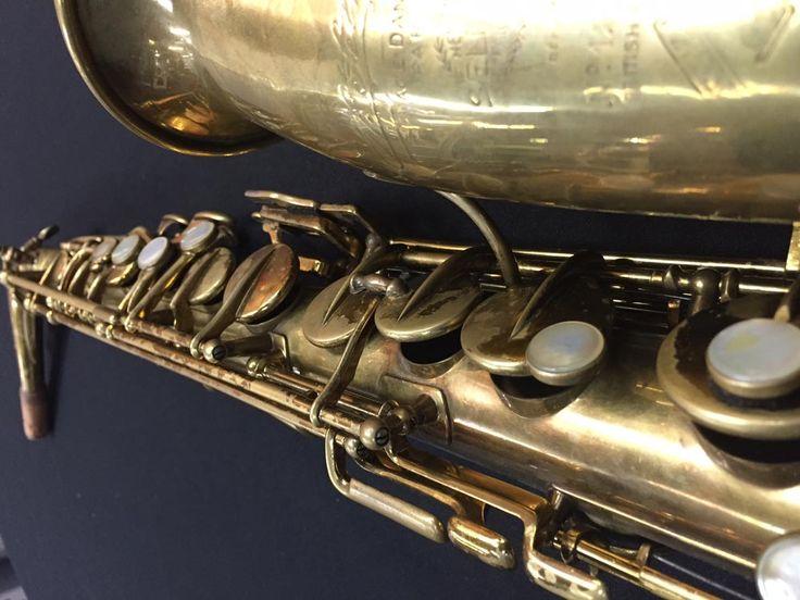 Selmer Model 28 alto saxophone (used) #12861