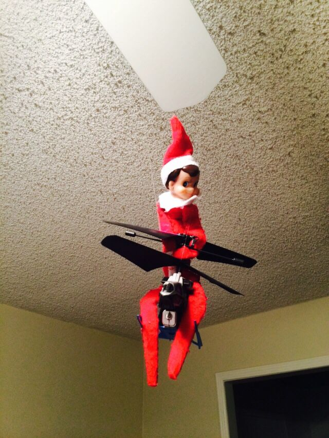 Elf on a Shelf...likes to fly on planes too! | Christmas | Pinterest ...