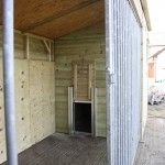 Custom Built Dog Kennel, we supply a variety of safe, cosy animal housing here at The Wooden Workshop.  www.wooden-workshop.co.uk