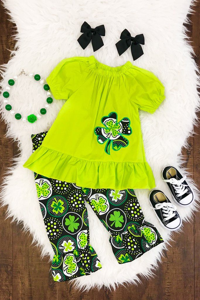 Lucky Shamrock Boutique Outfit