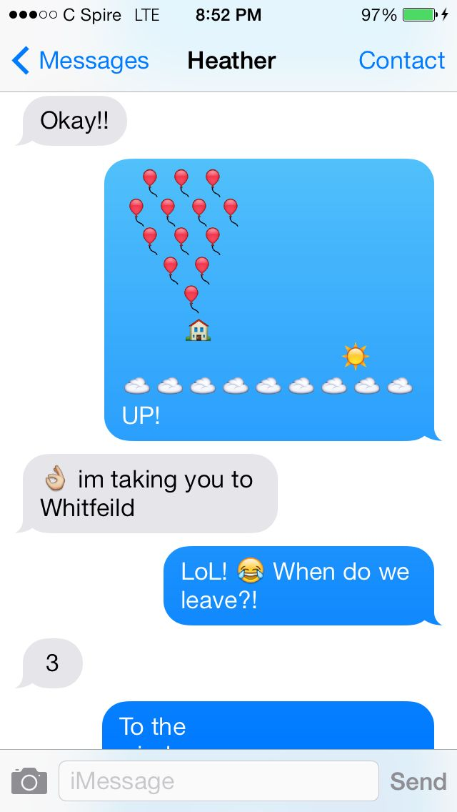 Cute emoji messages for boyfriend