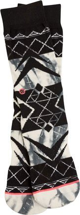 Stance socks.  http://www.swell.com/New-Arrivals-Womens/STANCE-CONQUISTADOR-TOMBOY-SOCK?cs=IV