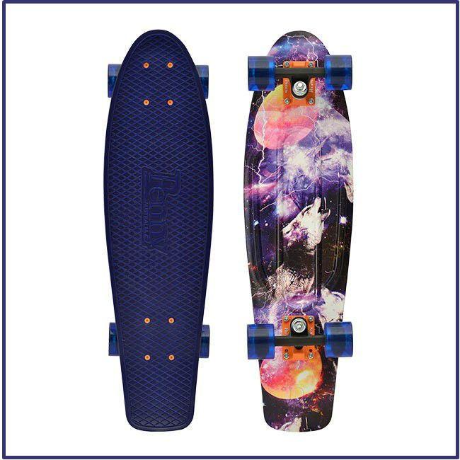 """PENNY NICKEL SKATEBOARD, Complete, Penny 27"""" Nickel Board, Space, Skateboard NEW"""