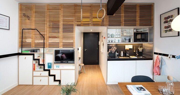 17 mejores ideas sobre peque os apartamentos de tipo loft - Apartamentos tipo loft ...
