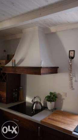 okap kuchenny w stylu retro,kuchnia w stylu angielskim,weranda country Murowana Goślina - image 7