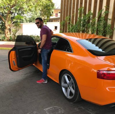 Actor Majid Michel acquires a 40000USD Audi A5 Coupe (Photos)