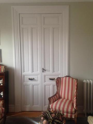 M s de 25 ideas incre bles sobre puertas dobles en for Puertas interiores antiguas madera