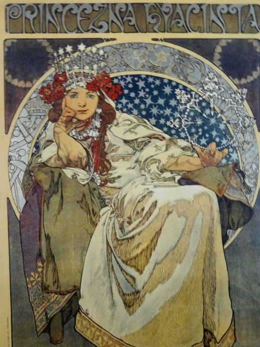 Alfons Mucha at the Gallery of Art, Prague - Image 11
